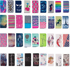 Vintage Stand Flip Wallet Leather Hybrid Case Cover Fr Samsung Galaxy S 6/6 Edge