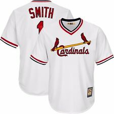 Ozzie Smith 1982 St Louis Cardinals Home Cooperstown Cool Base Jersey Men's