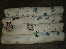 NEW Aden and Anais Muslin Cotton Swaddle Blankets Blue- You Choose
