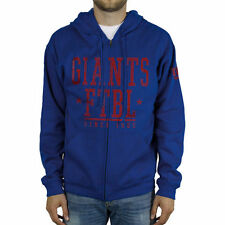 New York Giants Front And Sleeve Full Zip Jacket - Royal Blue - NFL