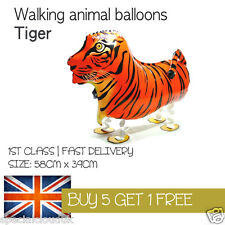 TIGER WALKING PET BALLOON ANIMAL AIRWALKER BIRTHDAY KIDS FARM FUN