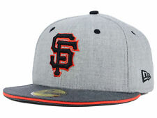 Official MLB San Francisco Giants New Era 59FIFTY Fitted Hat Heather Shadow
