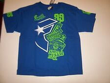 NEW FAMOUS STARS AND STRAPS short sleeve tee t shirt boys youth XL 18 20  blue