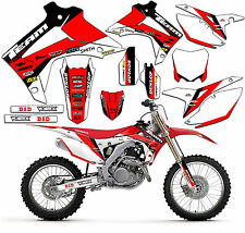 1997-1999 HONDA CR 250 R GRAPHICS KIT DECALS STICKERS MX DECO CR250 CR250R 1998