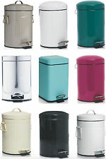 Quality Waste Bin Recycle Bin Rubbish Dust Bin Pedal Bin 3L Attractive Colours