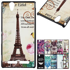 Fashion Design Pattern PC Hard Back Case Cover Sink For Sony Xperia T2 Ultra