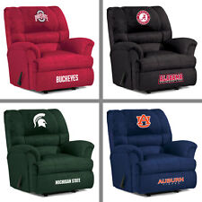 Choose Your NCAA Team Big Daddy Soft Microfiber Recliner Arm Chair by Imperial