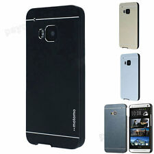Luxury Motomo Metal Aluminum Brushed + PC Hard Case Cover For HTC ONE Desire New