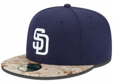 Official 2015 San Diego Padres Memorial Day Stars Stripes New Era 59FIFTY Hat
