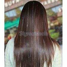 "100pcs 35"" Seamless Hair Highlights Hairpiece Hair Extensions Party Range colors"