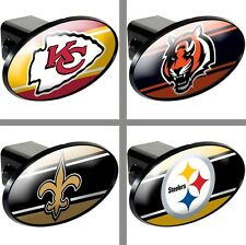 """Choose Your NFL Football Team 2"""" Trailer Hitch Receiver Cover by Great American"""