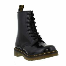 New Dr Martens 1460 Patent Black Boots Ladies Shoes Size UK 5 SALE