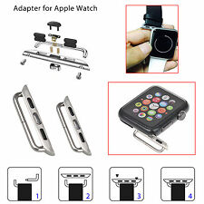 Watch Band Metal Clasp Connection Adapter For Apple Watch iWatch Band 38mm/42mm