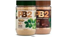 (2X) PB2 BELL PLANTATION NATURAL POWERED PEANUT BUTTER 453.6g 85% LESS CALORE