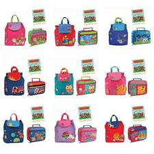 Stephen Joseph Quilted Backpack Lunch Box Set Kids Toddler School Preschool Bag