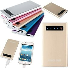 10000mAh LCD Touch Screen External Backup Portable Battery Charger Power Bank
