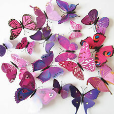 12pcs Butterfly Wall Stickers 3D Butterfly Wall Stickers Wedding decoration