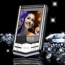 "Digital 4G 8G Slim 1.8"" Screen LCD MP3 MP4 Player Music Video FM Radio +Earphone"