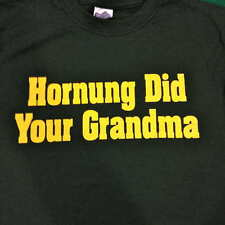 Green Bay Packers T-Shirt FUNNY - Hornung Did Your Grandmother