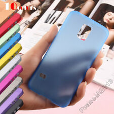 For Samsung Galaxy S5mini TPU Case Ultra Slim 0.3mm Matte Scrub Translucent