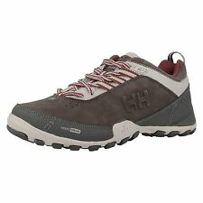 HELLY HANSEN 'The Korktrekker 4' Ladies Pearl/Light Grey Lace Up Trail Trainers