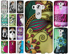 For LG G4 Rubberized HARD Protector Case Snap On Phone Cover + Screen Protector
