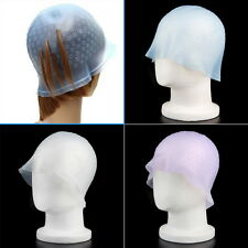 Professional Reusable Hair Colouring Highlighting Dye Cap Hook Frosting Tipping