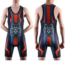 S/XS/M Size Youth Wrestling Singlet Young Children Razorback Sports wear