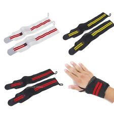 Weight Lifting Gloves Gym Bodybuilding Hand Bar Support Wrap Wrist Strap Bandage