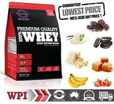 4KG WHEY PROTEIN ISOLATE  POWDER   WPI  100% PURE  CHOCOLATE
