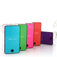 New Mini Portable USB Rechargeable Hand Held Air Conditioner Summer Cooler Fan