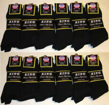 6 12 Pairs Mens Ribbed Dress Socks Cotton Casual Multi Color #MDV Size 10-13