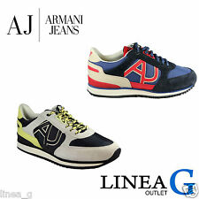 ARMANI JEANS suede sneakers SS15 sneakers in camoscio P/Estate 2015