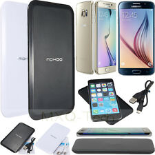 Qi Wireless Charger Charging Power Pad Mat+USB Cable Universal For Cell Phone