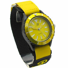 REFLEX UNISEX WATCH YELLOW FACE AND VELCRO STRAP VEL203G
