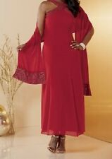 Red Marisa Formal Dress Gown by Ashro NWT $129 retail