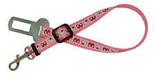 Pink hello kitty teacup chihuahua dog puppy car safety seat belt