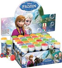 NEW DISNEY FROZEN BUBBLES Girls Childrens Party Bag Fillers Maze Game 60ML