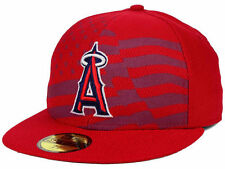 MLB 2015 Los Angeles Angeles Anaheim July 4th New Era 59FIFTY Fitted Hat