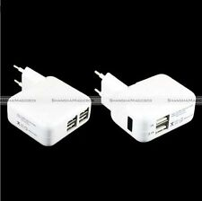 2/4 USB Ports EU Plug Wall AC Power Charger Adapter Travel For iPhone