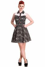 Hell Bunny Rockabilly Western Cody Dress Pin Up Style