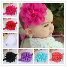 1PCS Baby Toddler Girls Kids Flower Tiara Hair Band Flower Headband Headwear TOP