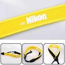 Neoprene Camera Shoulder Neck Strap For SLR DSLR Nikon Canon Sony Panasonic Cam