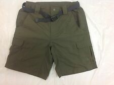 NWT! MEN'S THE NORTH FACE PARAMOUNT CARGO TAUPE GREEN SHORTS COTTON REGULAR FIT