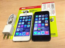 Apple iPhone 5 (Straight Talk Verizon) Black Slate Silver Smartphone 16 32 64GB