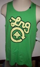 NEW LRG Lifted Research Group sleeveless tank top shirt green yellow Large XXL