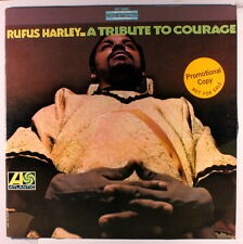 RUFUS HARLEY: A Tribute To Courage LP (WLP, promo toc) rare Jazz