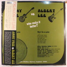 JIMMY PAGE / ALBERT LEE: Jimmy Page Vs. Albert Lee: Who Rocks It Better? LP (Eu
