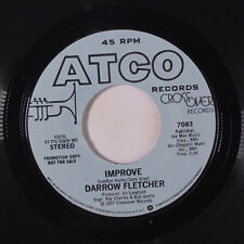 DARROW FLETCHER: Improve / Same 45 (dj) Funk