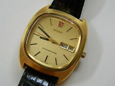VINTAGE MEN'S OMEGA MEGAQUARTZ 32 KHz - FOR PARTS/REPAIR -SOLD AS IS-NOT RUNNING